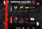 Стали известны группы основного этапа на EPICENTER 2019