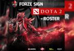 forZe подписали состав по Dota 2